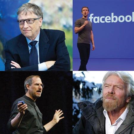 4 راز موفقیت از 4 میلیاردر خودساخته